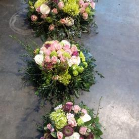 Biedermeier voorjaar rosé paars