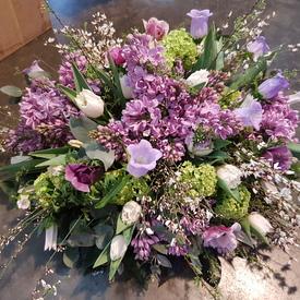 Biedermeier lila paars