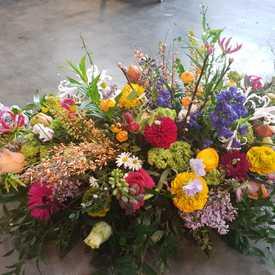 Bloemen mix voorjaar