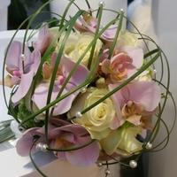 Biedermeier orchidee roos
